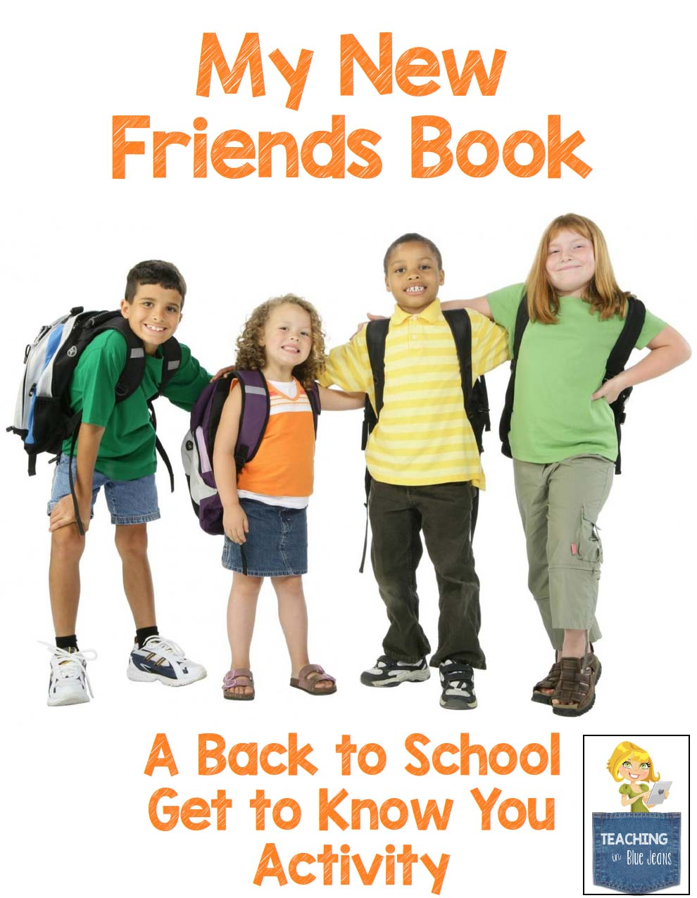 A free activity for the beginning of the school year. Help your students get to know each other and build a classroom family.
