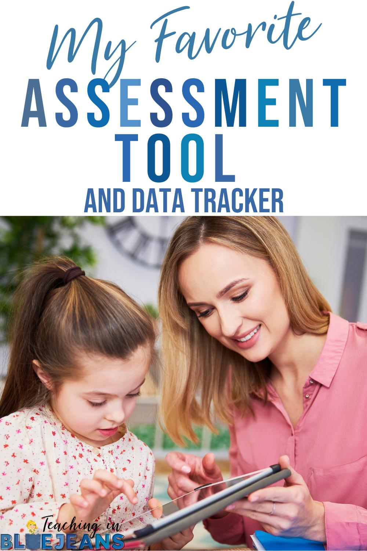 ESGI assessment tool and data tracker for primary grade teachers