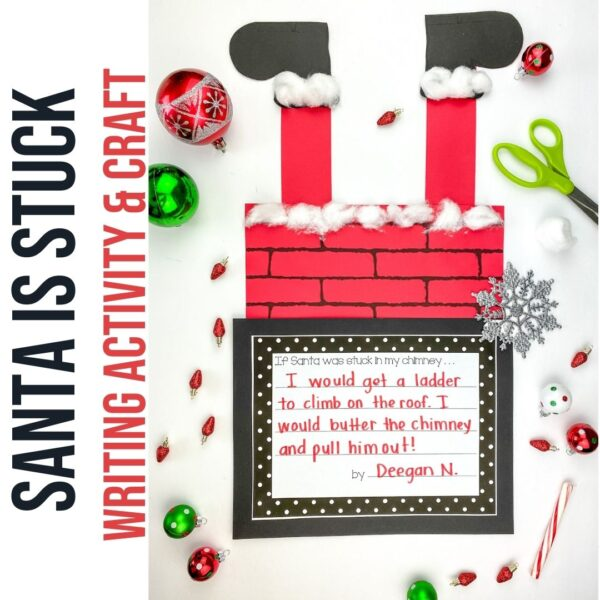 Santa's stuck writing craft