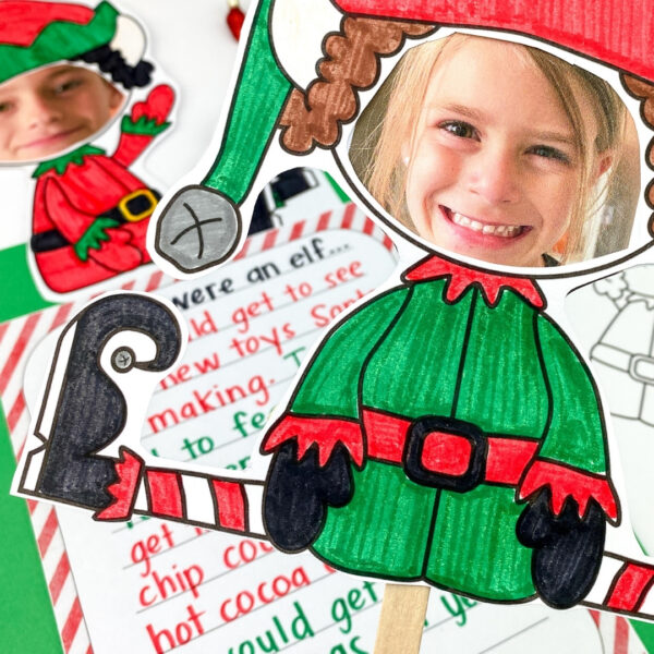 classroom elf yourself writing and craft