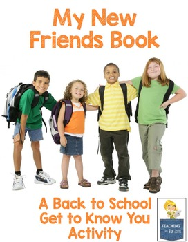 back to school free get to know you activity