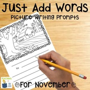 Just Add Words November