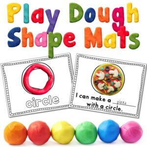 learning shapes with hands on activities