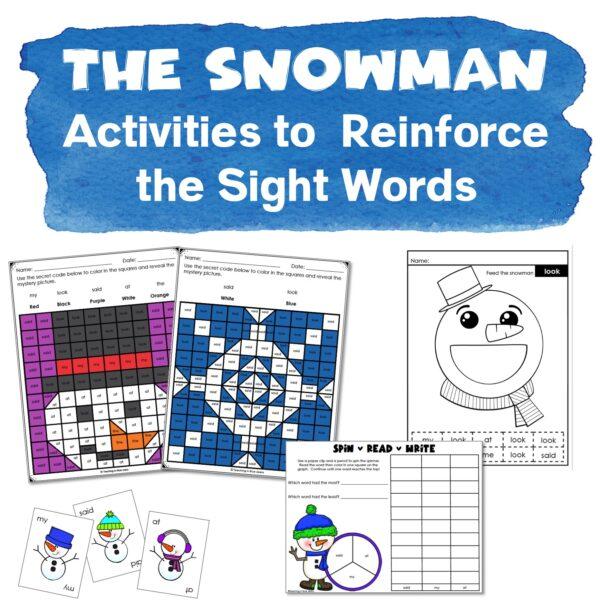 the snowman activities 2