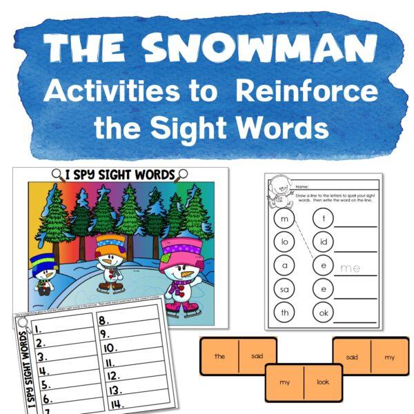 the snowman activities 3