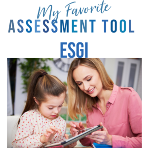 ESGI Assessment Tool and Data Tracker - the perfect option for primary teachers