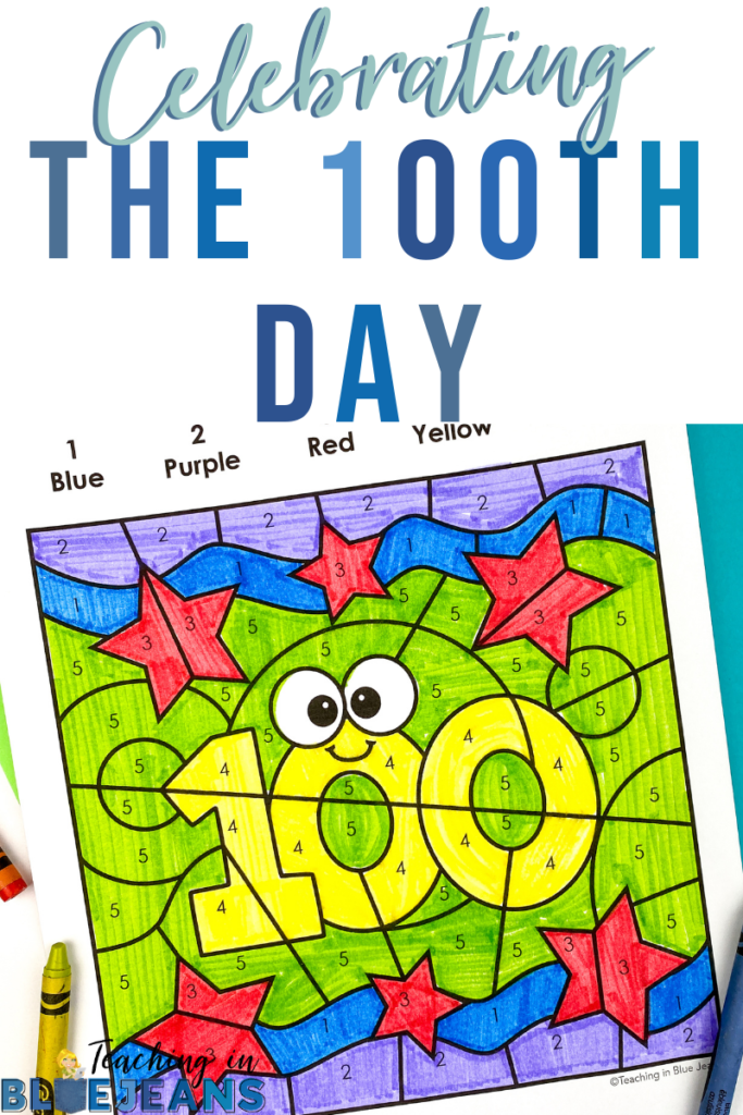celebrating the 100th day of school add to pinterest to save