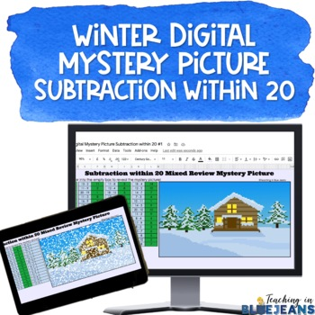 winter subtraction digital mystery pic
