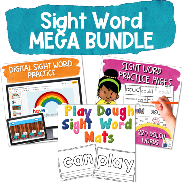 3 fun and engaging sight word practice activities to help your students master their sight words - includes 220 words on the Dolch word list