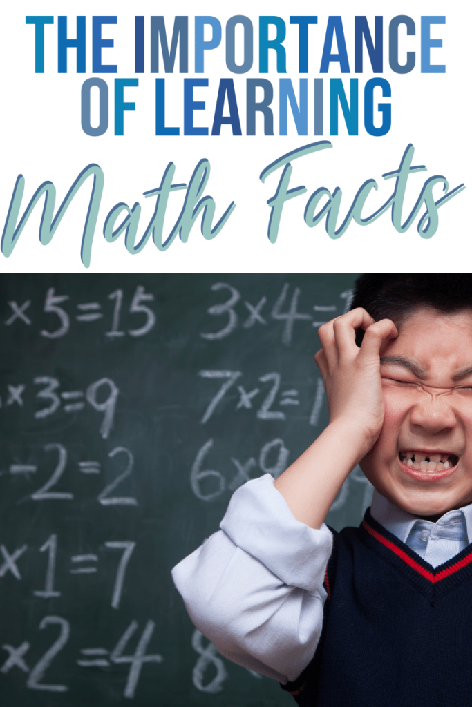 the importance of learning math facts