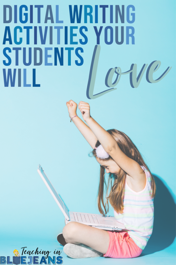 Digital writing activities are a great way to engage students in writing.  These fun and interactive digital writing activities will have your students begging for more writing time!