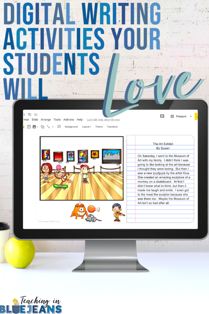 digital writing activities your students will love