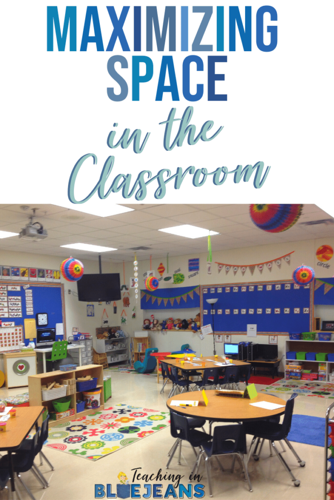 Space is limited in the classroom.  Maximize your space to get the most out of every inch.