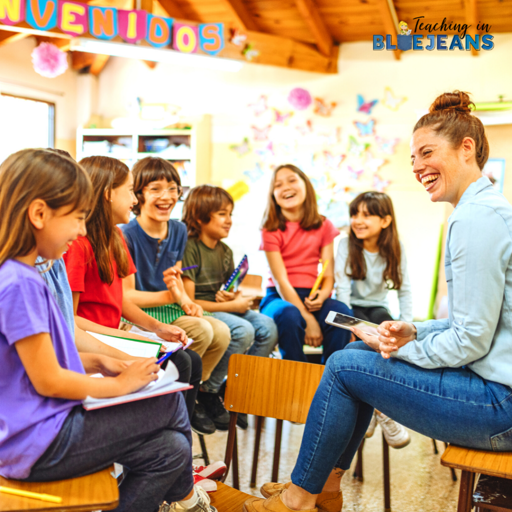 Sharing common experiences in class is a great way to feel part of a larger group.  Use field trips, a classroom project or a secret handshake to build community.