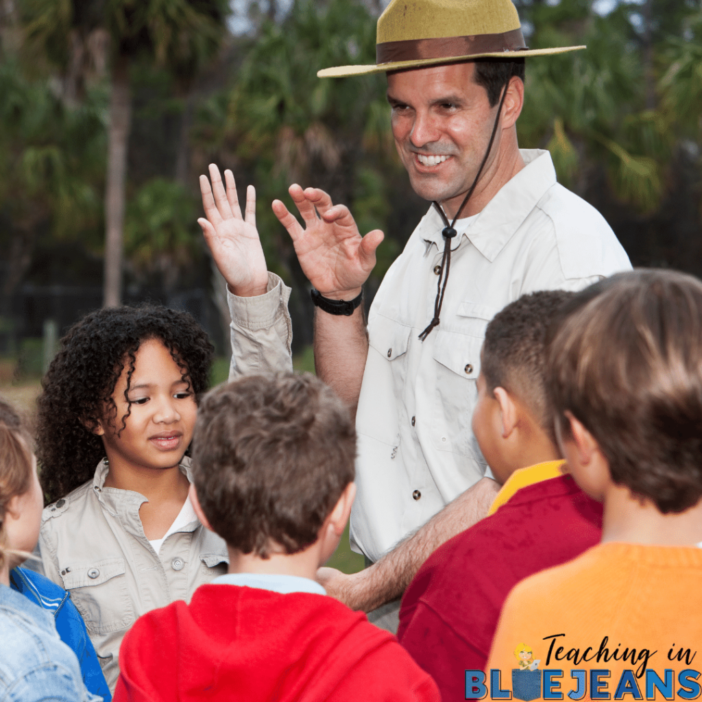 field trips are a great common experience that can be used to build community