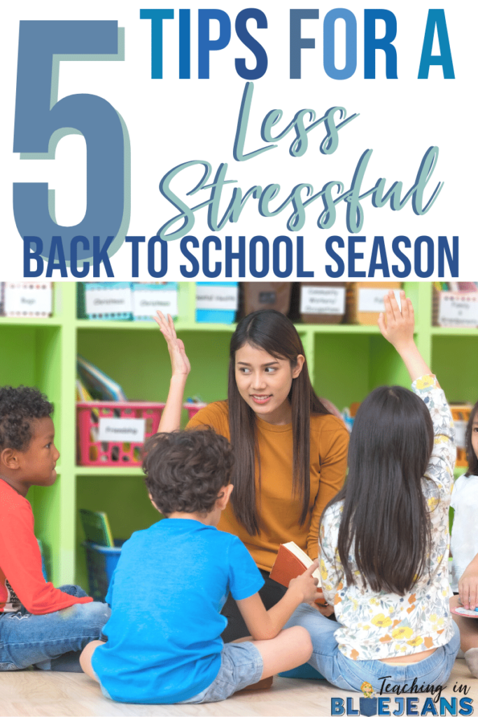 Here are 5 awesome tips for a less stressful back to school season. Whether it is having a set plan, taking time for yourself or reaching out for help, make sure you are doing all you can to ensure a smooth and easy transition to the new school year. These are awesome tips for help you prepare.