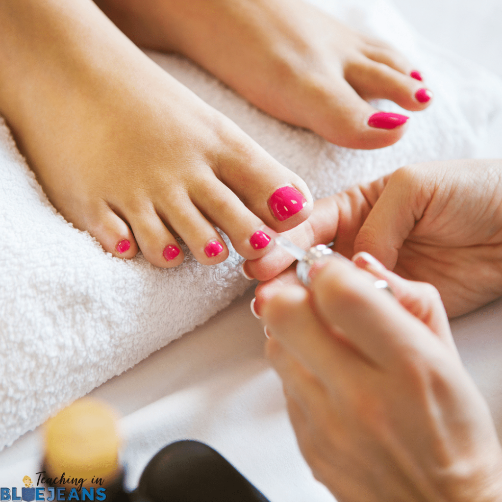 During the back to school season, make sure you are taking time for yourself to reduce stress and burnout. Set up a coffee date with friends or go to the spa for a pedicure. Making time for yourself is so crucial to helping you ease back into a stress free school year.